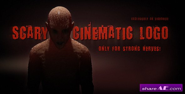 Videohive Scary Cinematic Logo Reveal - After Effects Templates