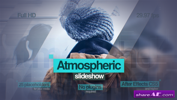 Videohive Atmospheric Slideshow - After Effects Templates
