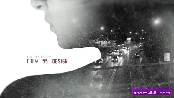 Videohive Double Exposure Movie Intro - After Effects Templates
