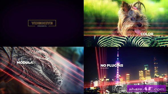 Videohive Lightlines | Slideshow - After Effects Templates