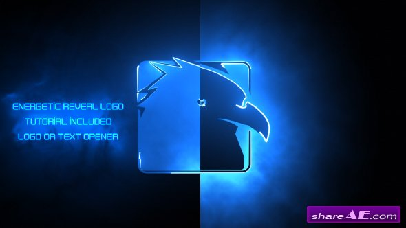 Videohive Energetic Reveal Logos Pack - After Effects Templates