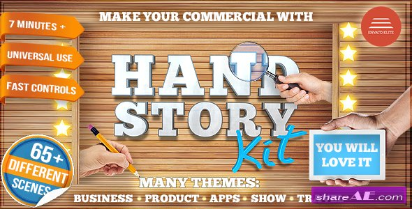 Videohive Hand Story Kit - Professional Explainer Builder | Cool Product and Services Commercial