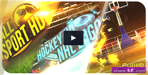 VIDEOHIVE Sport Logo Reveal Pack - AFTER EFFECTS TEMPLATES