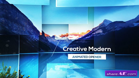 VIDEOHIVE Parallax Modern Opener - AFTER EFFECTS TEMPLATES