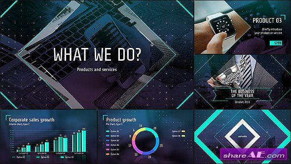 VIDEOHIVE Business of the Future � Modern Corporate Presentation - AFTER EFFECTS TEMPLATES