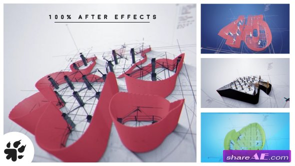 VIDEOHIVE Architect Logo Reveal v2 - AFTER EFFECTS TEMPLATE