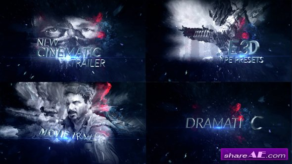 VIDEOHIVE Dynamic Type Presets Combo Pack - AFTER EFFECTS TEMPLATE