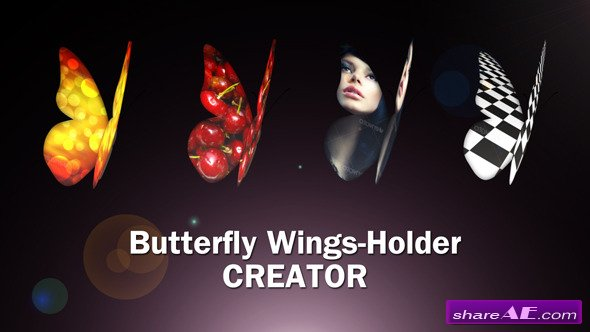 VIDEOHIVE Butterfly Wings Creator - AFTER EFFECTS TEMPLATE