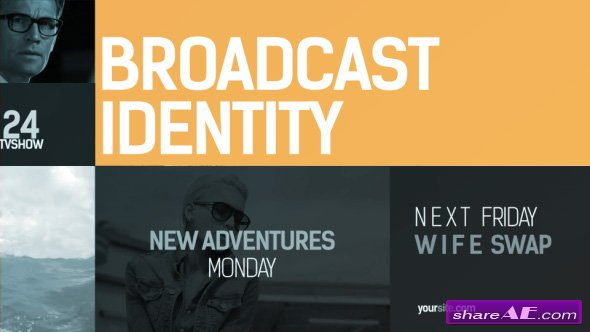 Videohive Broadcast Identity pack - AFTER EFFECTS TEMPLATES