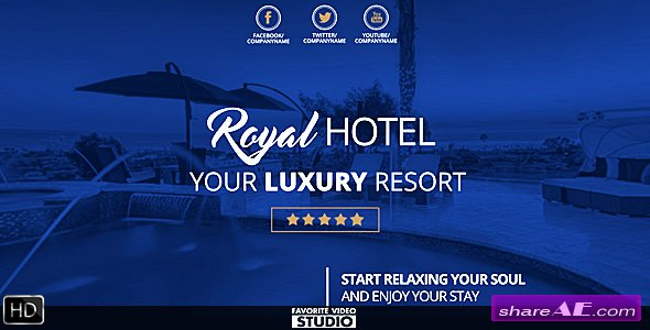 Videohive Royal Hotel Presentation - After Effects Templates