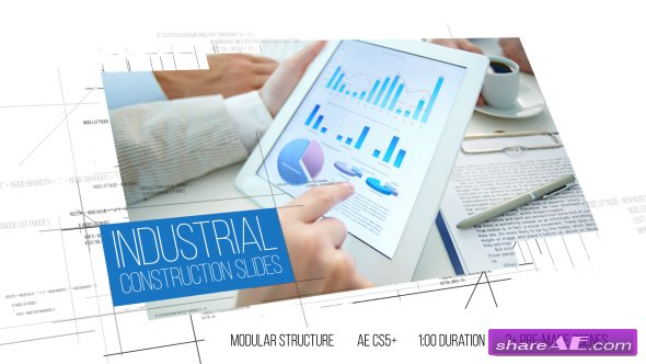 Videohive Industrial Construction Slides - After Effects Templates