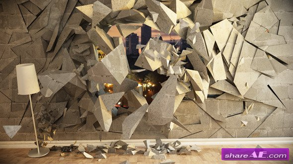Videohive Wall Destrucion - After Effects Templates