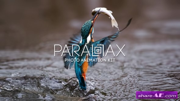 Videohive Parallax - Photo Animation Kit 4K - After Effects Templates