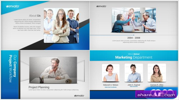 Company profile free after effects templates after for Company profile after effects templates free download