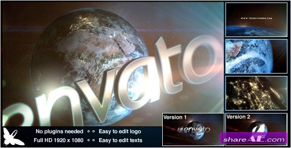 Videohive World Logo - After Effects Templates