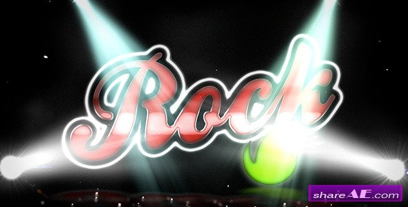 Videohive Rock Vintage Logo - After Effects Templates