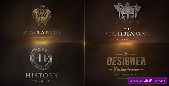 Videohive Cinematic Logo Reval - After Effects Templates