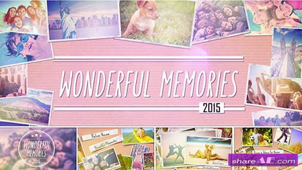 Videohive Wonderful Memories Slide Show - After Effects Templates