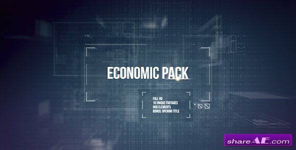 Videohive Economic Pack - After Effects Templates