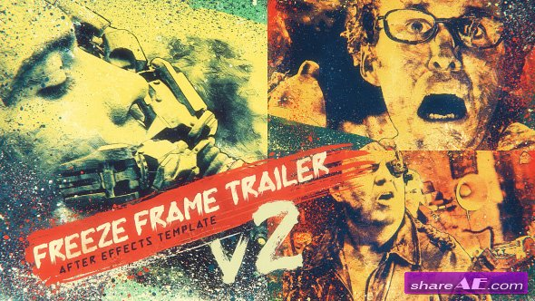Videohive Freeze Frame Trailer V2 - After Effects Templates