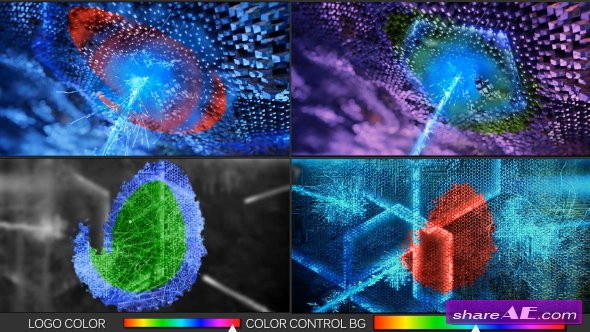 Videohive Energy Logo Reveal - After Effects Templates