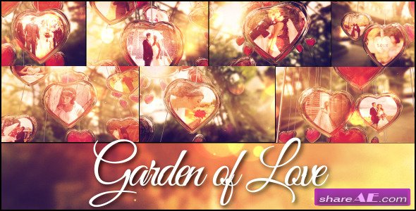 Videohive Garden of Love - A Wedding Day - After Effects Templates