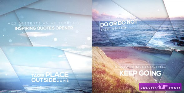 Videohive Inspiring Quotes Opener - After Effects Templates