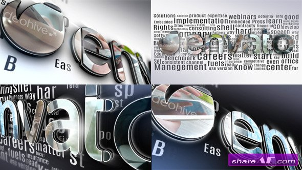 Videohive Simple 3D Logo - After Effects Templates