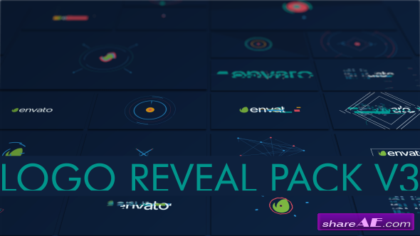 Videohive Logo Pack Shape 16 in 1 - After Effects Templates