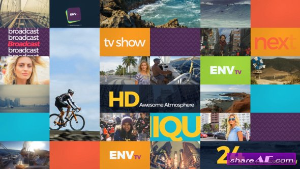 Videohive Channel Rebrand - After Effects Templates