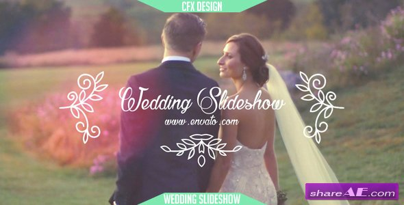Videohive Wedding Slideshow 14635491