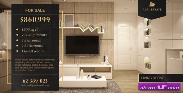 Videohive Real Estate Promo