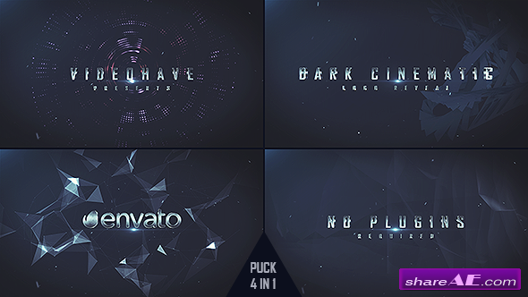 Videohive Dark Logo Reveal