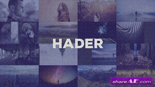 Hader - Hip Title Sequence - After Effects Project (Rocketstock)