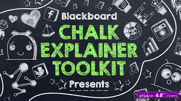 Videohive Blackboard Chalk Explainer Toolkit