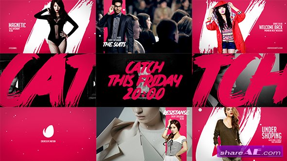 Videohive Pink Fashion Broadcast