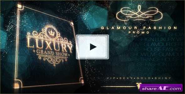 Videohive Luxury Grand Show | Glamour Golden Promo