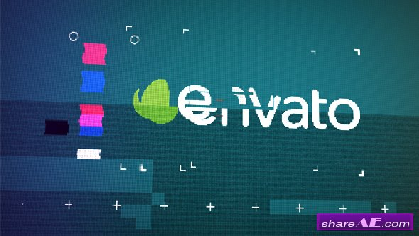 Videohive Glitch Logo Reveal