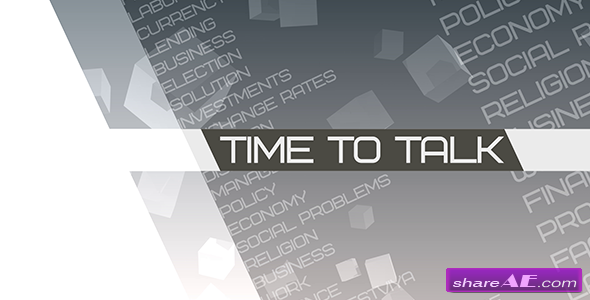 Videohive Time to talk (Broadcast Pack)