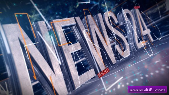 Videohive News Broadcast Package vol.1
