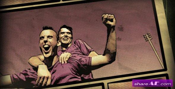 Videohive Soccer Comics Vintage & Modern
