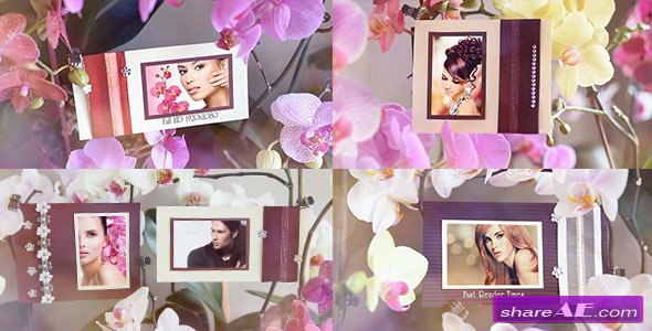 Videohive Photo Gallery in Flowers