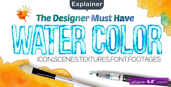 Videohive Water Color Pack