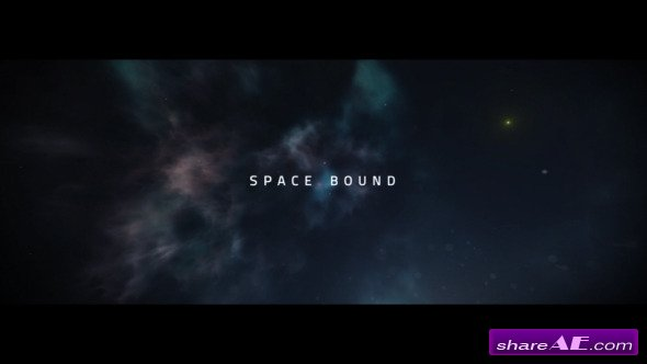 Videohive Space Bound Titles