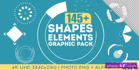 Shapes & Elements Graphic Pack - Motion Graphic (Videohive)