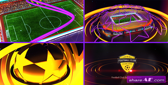 Videohive Football Club Logo Opener