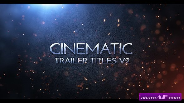 Videohive Cinematic Trailer Titles v2