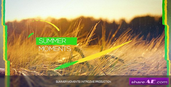 Videohive Summer Moments