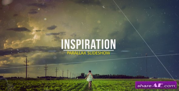 Videohive Inspiration Parallax Slideshow