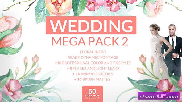 Videohive Wedding Mega Pack 2